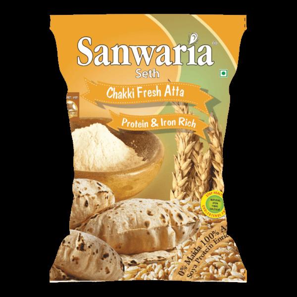 Sanwaria Seth Chakki Fresh Atta 10kg