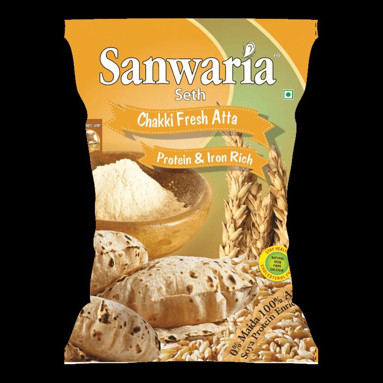 Sanwaria Seth Chakki Fresh Atta 5kg