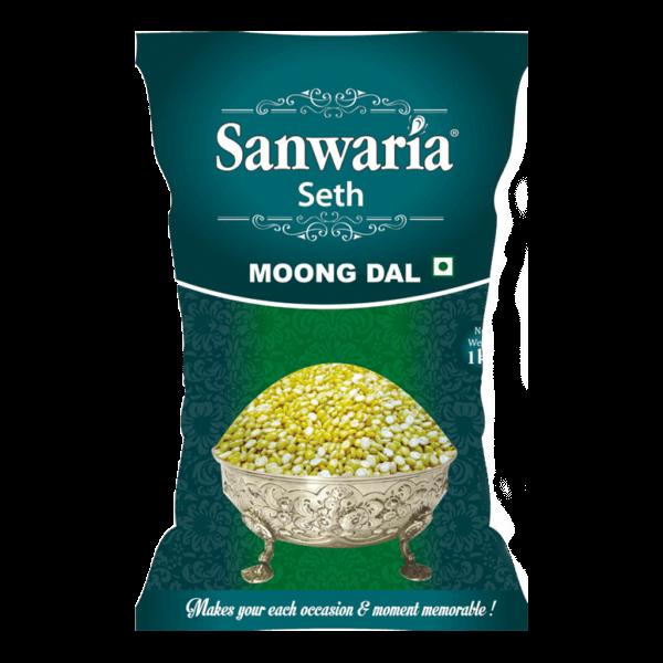 SANWARIA SETH MOONG DAL 1KG
