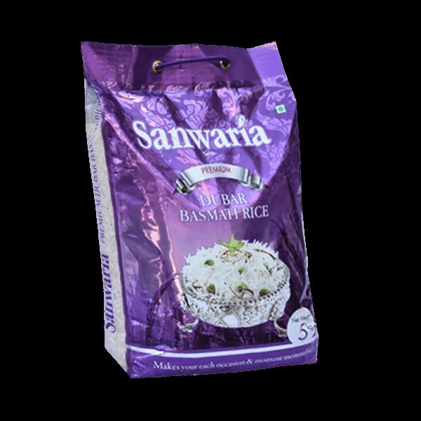 SANWARIA SETH PREMIUM DUBAR BASMATI RICE 5 KG