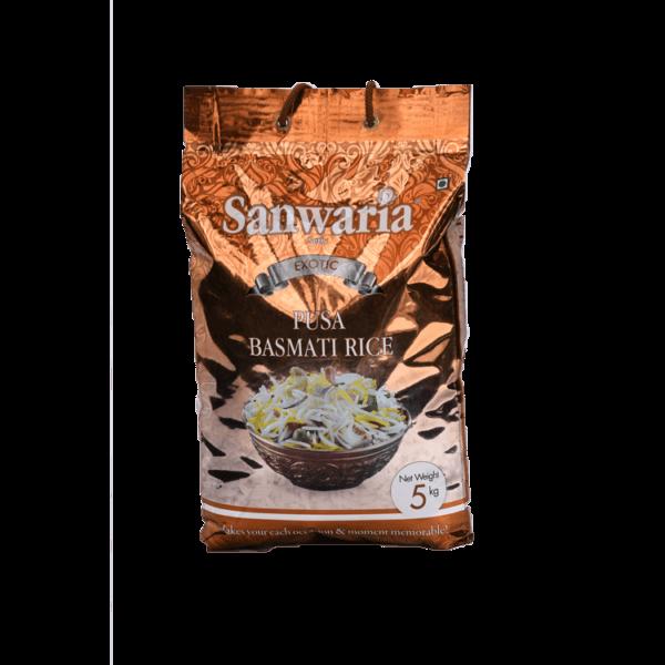 Thumb Of Sanwaria Seth Pusa Basmati Rice 5 Kg