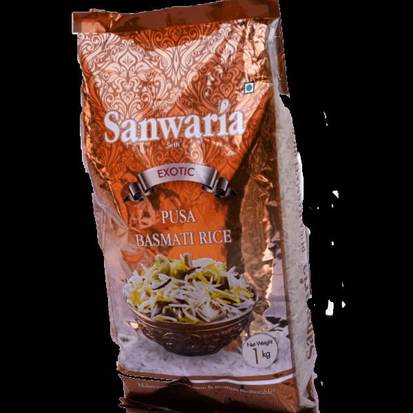 Thumb Of Sanwaria Seth Pusa Basmati Rice 1 Kg
