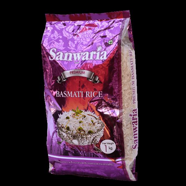 SANWARIA SETH PREMIUM BASMATI RICE 1 KG