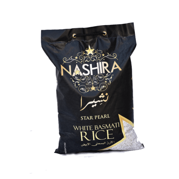 Nashira Raw White Basmati Rice 5 Kg