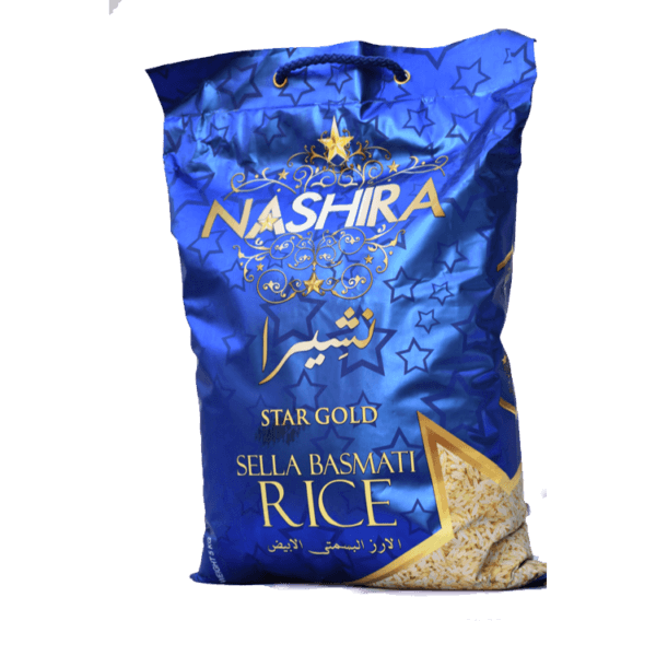 Thumb Of Nashira Sella Basmati Rice 5 Kg