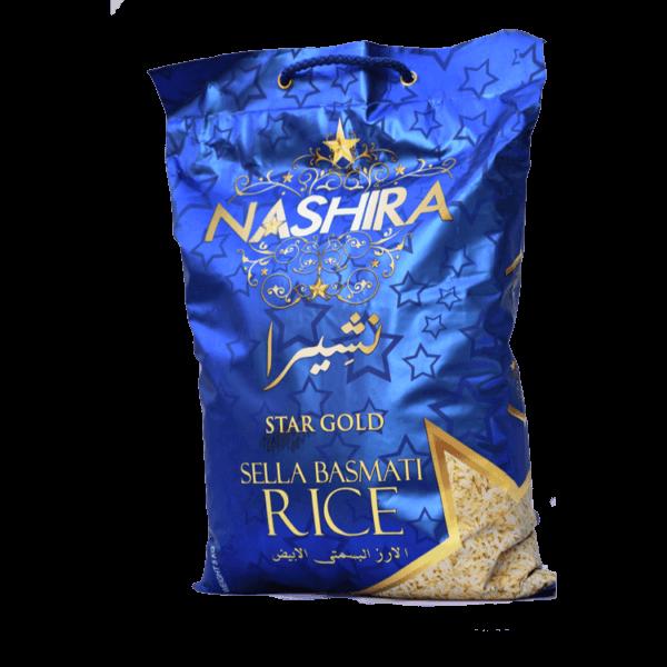 NASHIRA SELLA BASMATI RICE 5 KG
