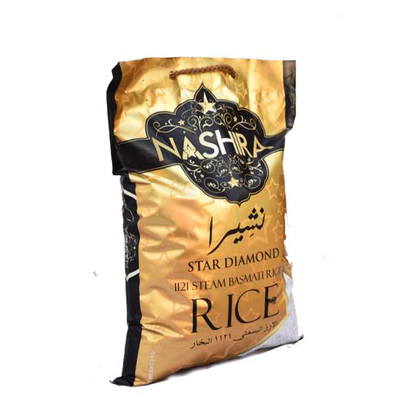 Thumb Of Nashira Steam Basmati Rice 5 Kg