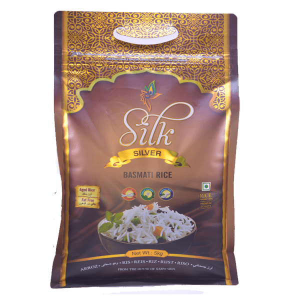 Thumb Of Silk Silver Basmati Rice 5 Kg