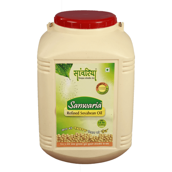 Thumb Of Sanwaria Refined Soyabean Oil 15 Ltr