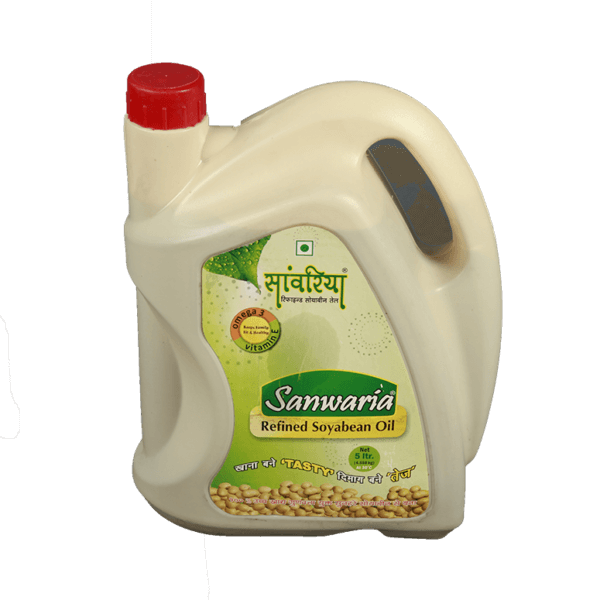 Thumb Of Sanwaria Refined Soyabean Oil 5 Ltr