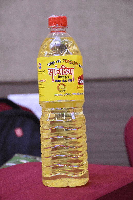 Sanwaria Sunflower Oil 1 Ltr Pouch