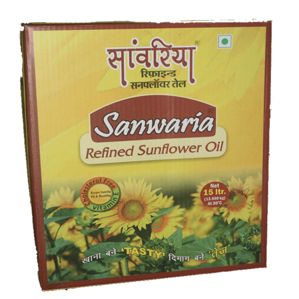 Sanwaria Sunflower Oil 15 Ltr