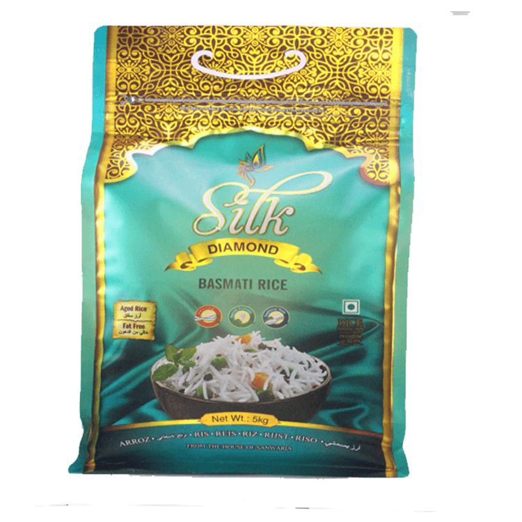 SILK DIAMOND BASMATI RICE 5 KG