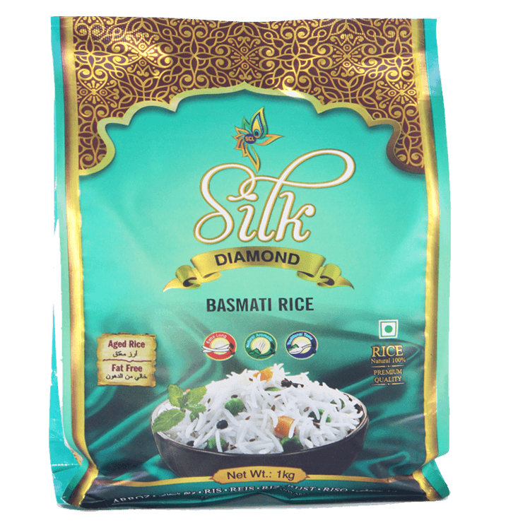 Silk Diamond Basmati Rice 1 Kg