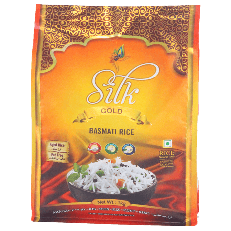 SILK GOLD BASMATI RICE 1 KG