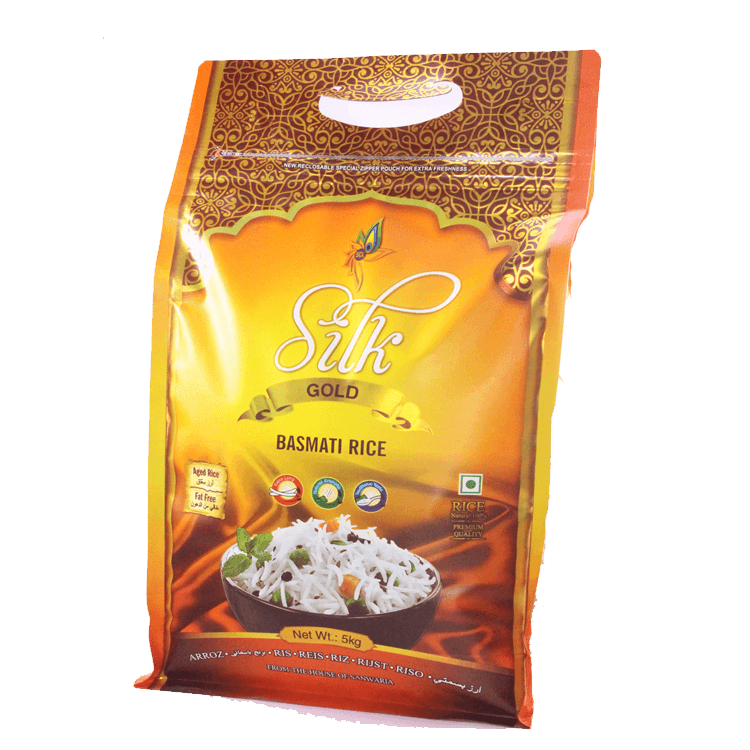 SILK GOLD BASMATI RICE 5 KG
