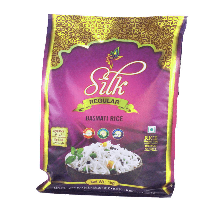 SILK REGULAR BASMATI RICE 1 KG