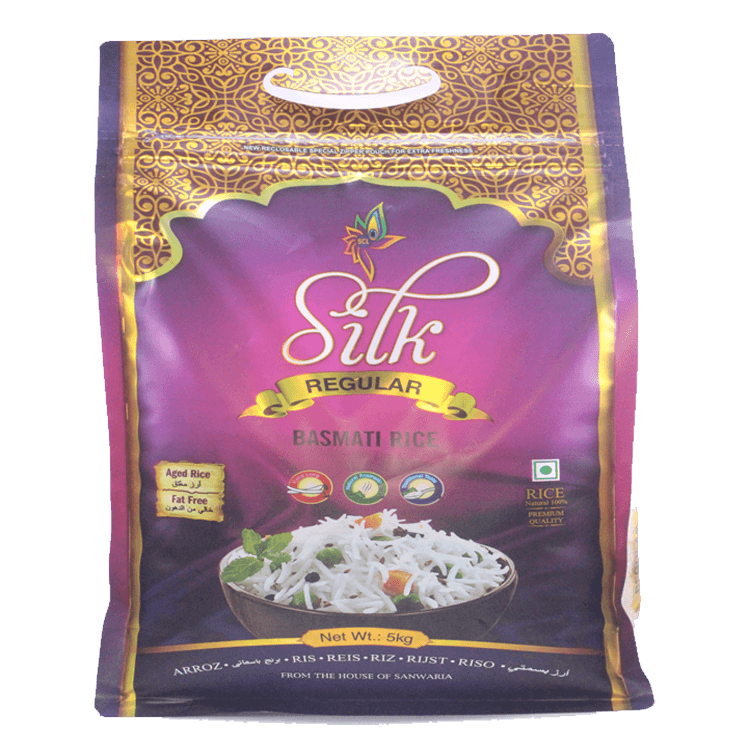SILK REGULAR BASMATI RICE 5 KG